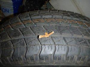 paikka renkaan reiässä